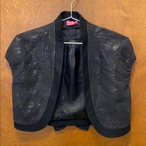 BCBGirls dress cover jacket size medium